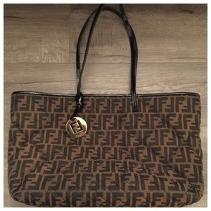 Fendi quilted purse