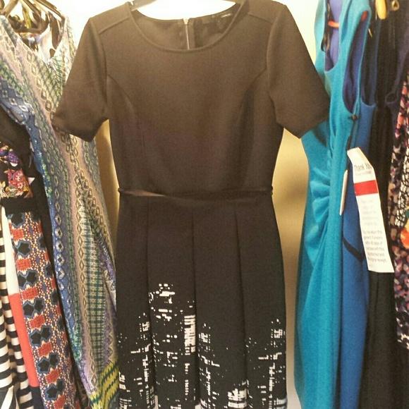 City scape dress
