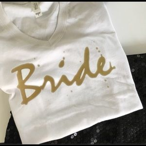 Tops - New shirts!! Bride and bride squad shirts $25 each