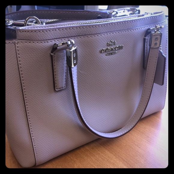 c633f54a96 Coach Bags | Mini Christie Rare Birch Grey Color | Poshmark