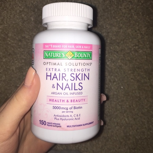 Natures bounty Other | Natures Bounty Hair Skin And Nails Vitamins ...