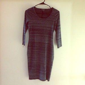 Gray Express dress