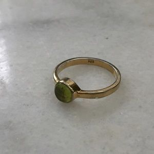 Banana Republic | Green Stone Stackable Ring