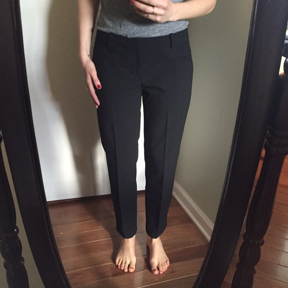 Gap Pants Slim Cropped Black Dress Poshmark