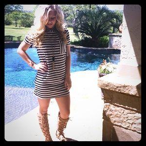 Atid Clothing Dresses & Skirts - THE BEST SUMMER DRESS Arid  Striped Tshirt Dress