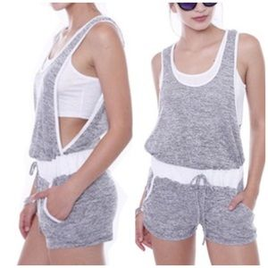 Romper with attached cami