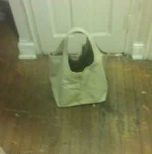 Handbags - Brand new durable khaki tote bag