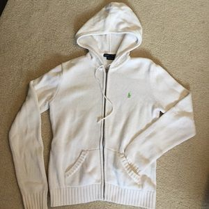 Ralph Lauren white sweater