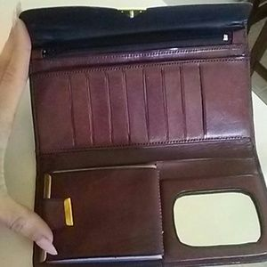 Handbags - 100 % leather wallet
