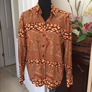 Escada Tops - 💐ESCADA ...Margaretha Ley silk blouse