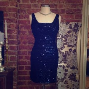 Black Sequin Cocktail Dress Sale 75