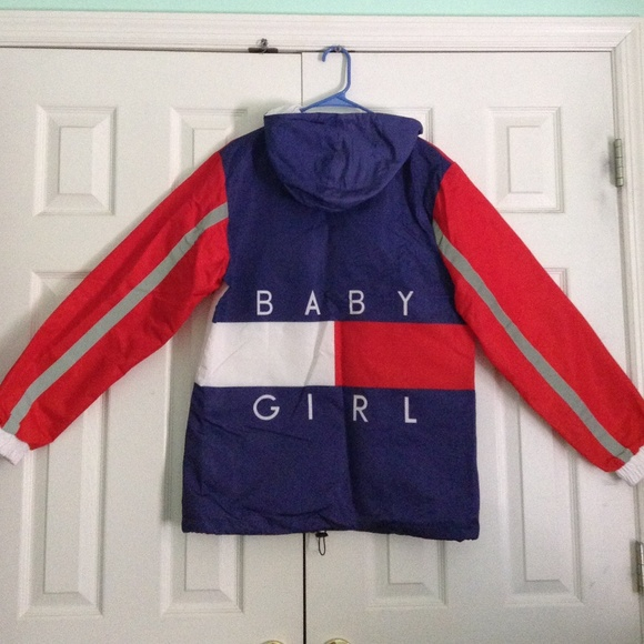 17% off thug ave Other - 'baby girl' lightweight windbreaker ...