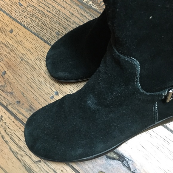 Shoes - *Make an offer* Black Wedge Boots