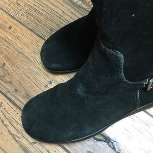 Shoes - Black Wedge Boots *Make an offer*