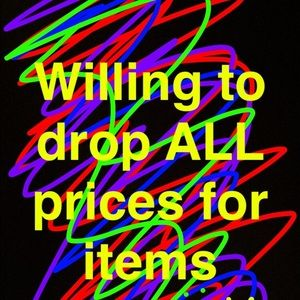 Price drops on all item