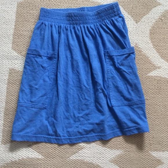 American Apparel Dresses & Skirts - American Apparel Jersey High-Waisted Pocket Skirt