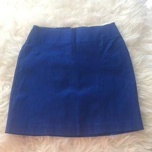 Forever 21 blue miniskirt