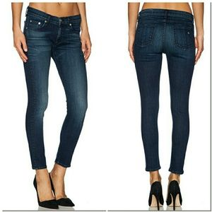 Rag & Bone Capri Jeans Recadrées sWVT1YMR