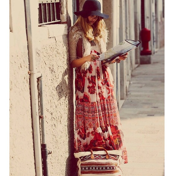 62% off Free People Dresses &amp- Skirts - Stunning Free People Ethnic ...