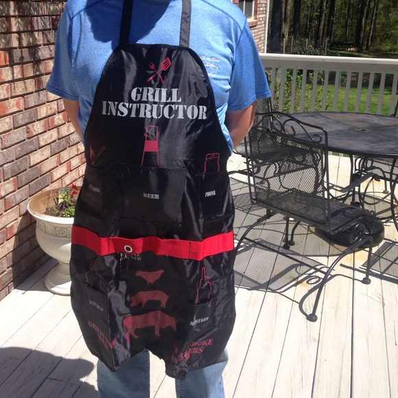 Grill Instructor Man Apron