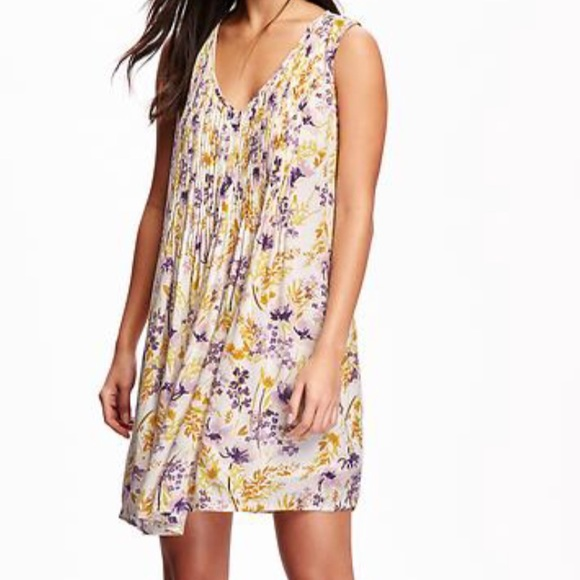 Yellow old navy dress