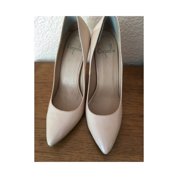 7e97be6339ccfd Cult of Coquette Shoes - Cult of Coquette Azar Nude Patent Pumps