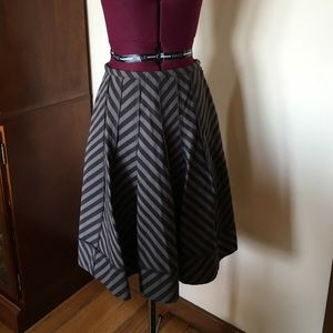 Sonia Rykiel Black Stripe Skirt