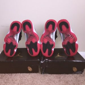 on sale 516d8 17243 Jordan bred 11 (2 pairs) $100 each (FAKE)