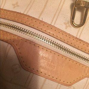 Louis Vuitton Bags - Authentic Louis Vuitton Damier azur NEVERFULL tote