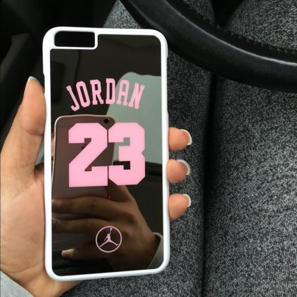 Jordan Silver Mirror Case iPhone 6 Plus /6s Plus