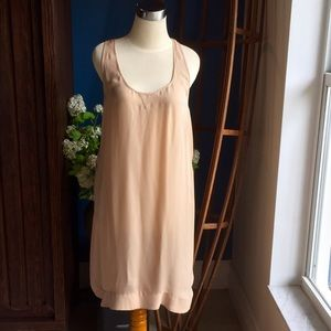 A.L.C Silk Dress Tan L