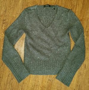Gray Express sweater