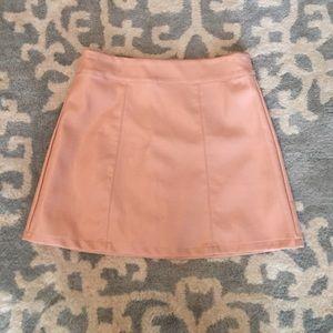 Pale Pink Mini Skirt