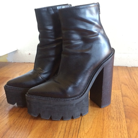 cbaacba443f Jeffrey Campbell Shoes - Pointed toe platform boots