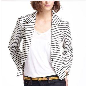 HOST PICK Anthropologie striped blazer