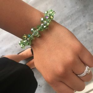 Jewelry - Green Beaded Bracelet