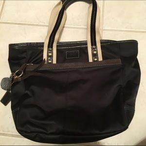 Black coach purse!