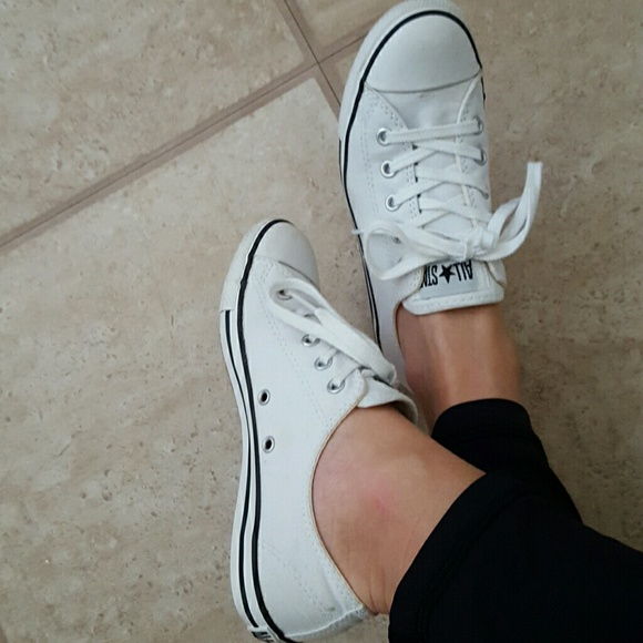 dcce6e181d89 Converse Shoes - All white convese all stars