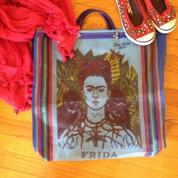 1bc26c15a Bags | Bolsa De Frida Kahlo Frida Market Bag | Poshmark