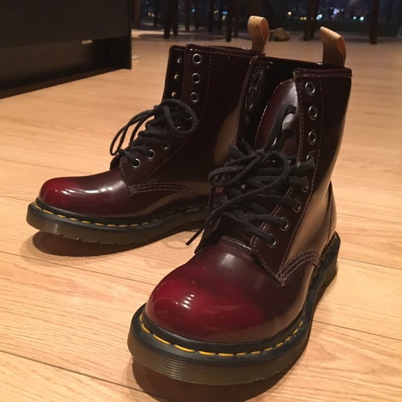 e4ca22fd011c5 Dr. Martens Shoes   Dr Marten Womens Vegan 1460 W 8eye Boot   Poshmark