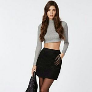 NWOT Zara black skirt