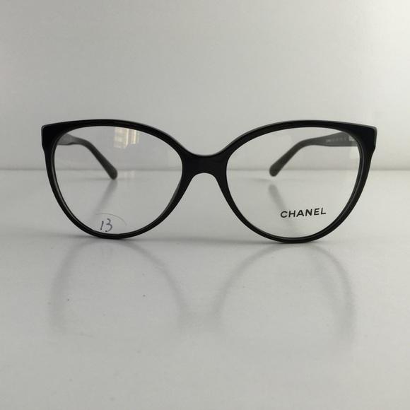 0c2bf044aa CHANEL Accessories - New Chanel Eyeglasses 3312 c. 1503 Black Acetate