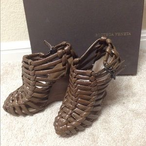 Authentic Bottega Veneta wedge 
