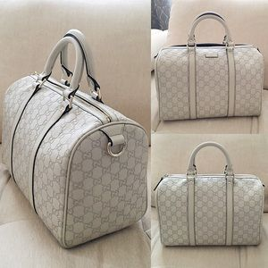 Gucci Handbags - Gucci Guccisima Boston Bag