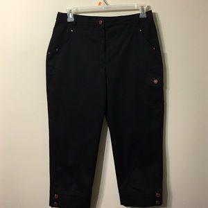 Marina Rinaldi Pants - Marina Rinaldi black capris pants size 14W