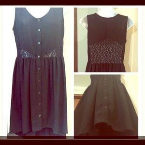 Black Forever 21 hi-low dress!