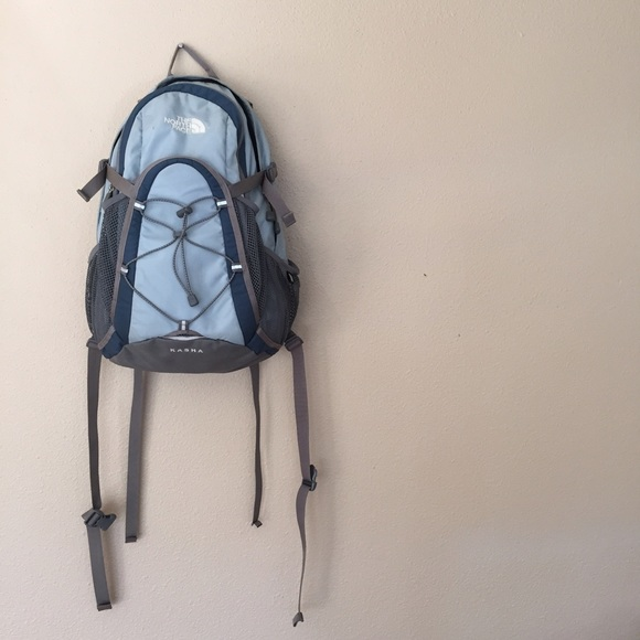 c6dbd6224 {The North Face} Light Blue Kasha Backpack