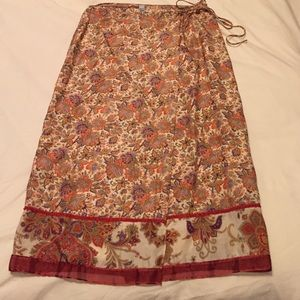 Laundry floral skirt