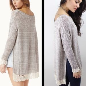 Free People Oversized Sweater