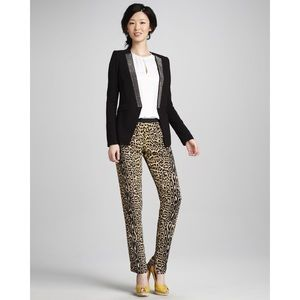 BCBGMaxAzria Pants - Pants by BCBGMAXAZRIA in Leopard Print